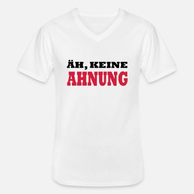 Jay Rock ÄH KEINE AHNUNG by JAY - Men's V-Neck T-Shirt