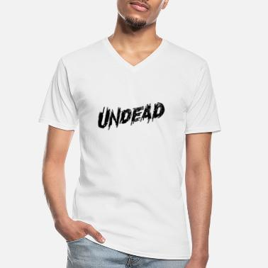 Undead undead - Men's V-Neck T-Shirt
