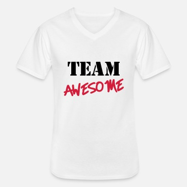 Team Awesome Team Awesome - Men's V-Neck T-Shirt