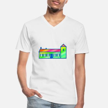 House House - Men's V-Neck T-Shirt