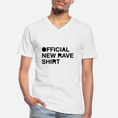 New Rave New Rave - Men's V-Neck T-Shirt