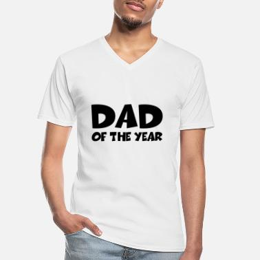 Dad Of The Year Dad of the year - Männer-T-Shirt mit V-Ausschnitt