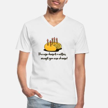 Age Old Age old become aging birthday saying funny - Men's V-Neck T-Shirt