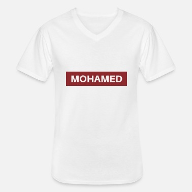 Mohamed Mohamed - Men's V-Neck T-Shirt