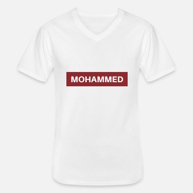 Mohamed Mohammed - Men's V-Neck T-Shirt