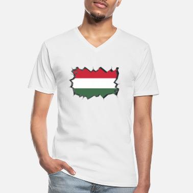 Hungary Hungary flag Hungarian Balaton Hungary - Men's V-Neck T-Shirt