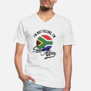 Africa South Africa - Men's V-Neck T-Shirt