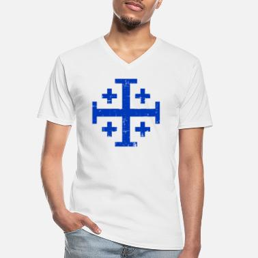 Jerusalem Jerusalem - Men's V-Neck T-Shirt