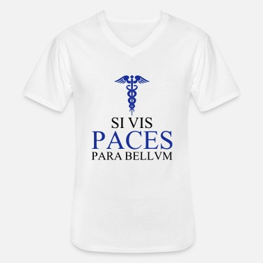 Fac PACES - T-shirt col V Homme