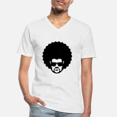 Afro afro - Men's V-Neck T-Shirt
