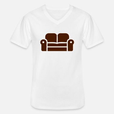 Couch couch - Men's V-Neck T-Shirt