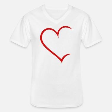 Brème T-Shirt hommes-I Love HB SHIRT-avec cœur et clé Symbole