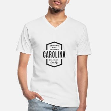 Carolina Carolina - Men's V-Neck T-Shirt