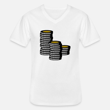 Cash Cash - Men's V-Neck T-Shirt