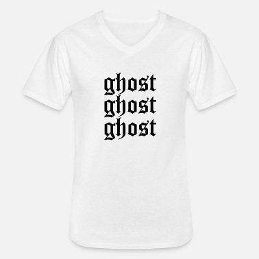 Ghost Ghost ghost ghost - Men's V-Neck T-Shirt