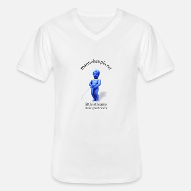 EUROPE ♀♂ | mannekenpis マヌカンピス - T-shirt col V Homme