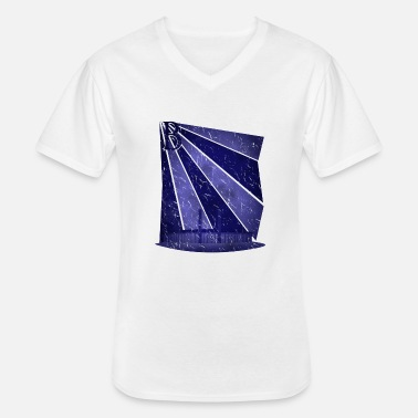 Football Stadium Berlin football stadium - Men's V-Neck T-Shirt