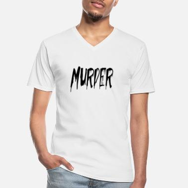 Murder Mystery murder - Men's V-Neck T-Shirt