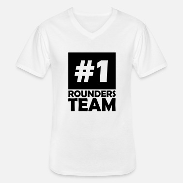 Rounders number one rounders team - Men's V-Neck T-Shirt