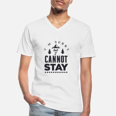 Tennessee I m sorry but I cannot stay 01 - Men's V-Neck T-Shirt