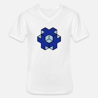 Object 3d object - Men's V-Neck T-Shirt