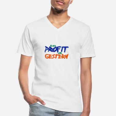 Profit profit - Men's V-Neck T-Shirt