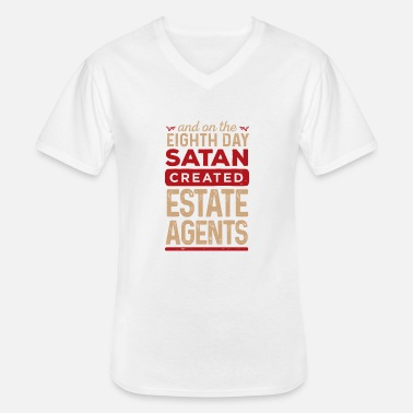 Estate Agent Estate Agents - Men's V-Neck T-Shirt