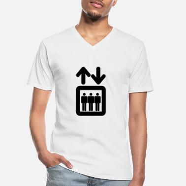 Elevator elevator - Men's V-Neck T-Shirt