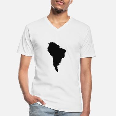 South America South America - Men's V-Neck T-Shirt