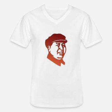 Mao Mao Zedong - Men's V-Neck T-Shirt