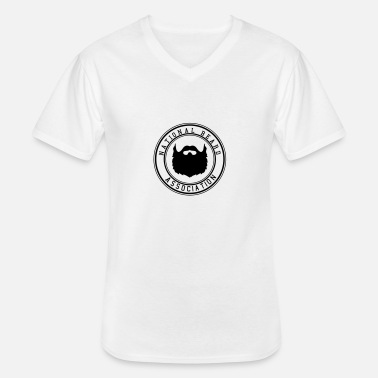 Association Association nationale Barbe - T-shirt col V Homme