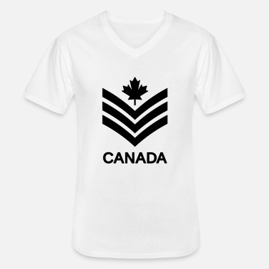 Sergeant Sergeant CANADA Army, Mision Militar ™ - Men's V-Neck T-Shirt