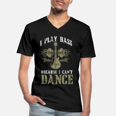 Bass Player Bass player bass player bass player bass player - Men's V-Neck T-Shirt