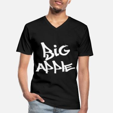Big Apple Big Apple - Men's V-Neck T-Shirt