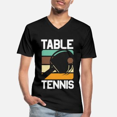 Table Tennis table tennis table tennis racket table tennis player - Men's V-Neck T-Shirt