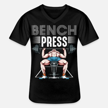 Body Builder body builder - Men's V-Neck T-Shirt