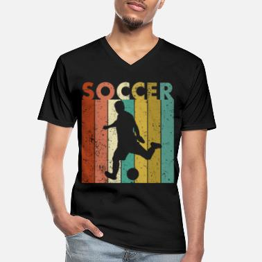 Dortmund Footballer saying funny gift present idea - Men's V-Neck T-Shirt