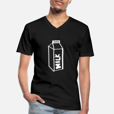 Milk Milk milk - Men's V-Neck T-Shirt