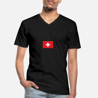 Switzerland Switzerland Switzerland - Men's V-Neck T-Shirt