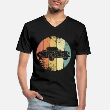 Car Car vintage - Men's V-Neck T-Shirt
