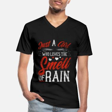 Raining rain - Men's V-Neck T-Shirt