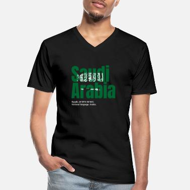 Arabia Saudi Arabia - Men's V-Neck T-Shirt