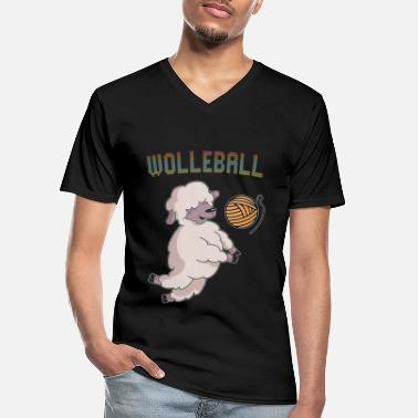 Wool Wool wool ball - Men's V-Neck T-Shirt