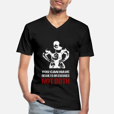Body Bodybuilding - Men's V-Neck T-Shirt