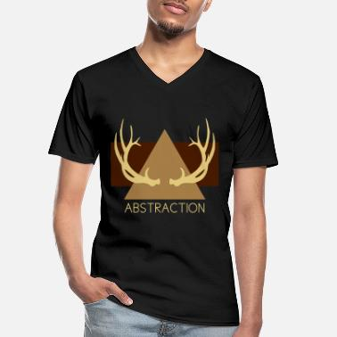 Abstract Abstraction - Men's V-Neck T-Shirt