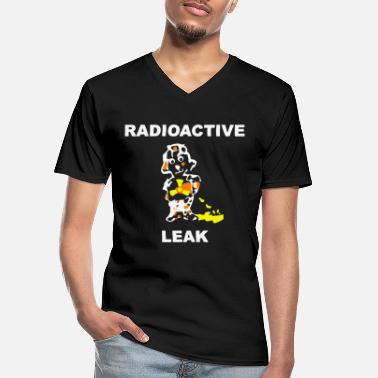 Nuclear PENDECH Radioactive Humor Satire Comic. - Men's V-Neck T-Shirt