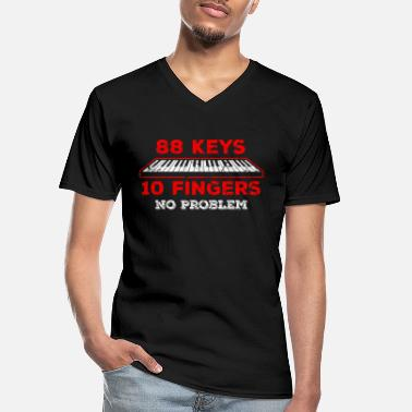 Keyboard Keyboard - Men's V-Neck T-Shirt