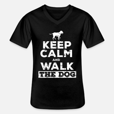 Dog Owner Dog owner dog owner - Men's V-Neck T-Shirt