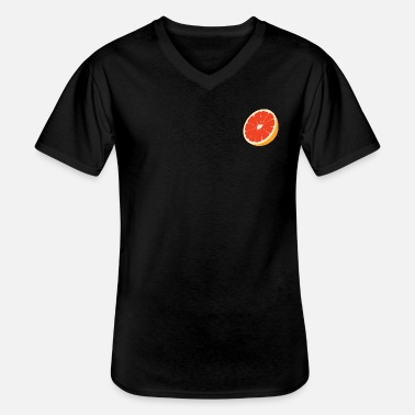 blood oranges - Men's V-Neck T-Shirt