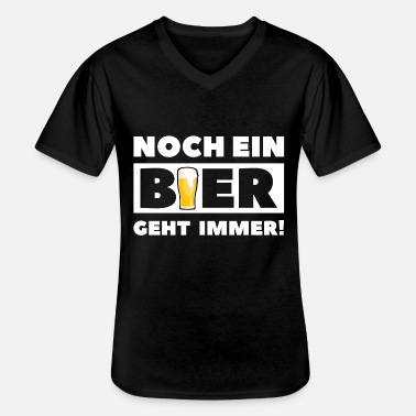 Beer drink alcohol booze gift - Men's V-Neck T-Shirt